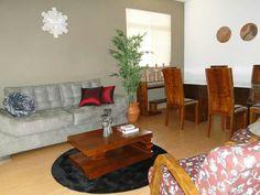 O apartamento era assim.