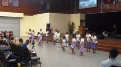 Dance performance at City Gate Tabernacle (Lae, PNG) last night!