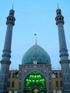 Jamkaran mosque early morning