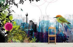 Behang op maat | foto's van klanten | Stories on the Wall