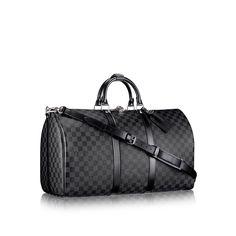 Keepall Bandouliere 55 via Louis Vuitton