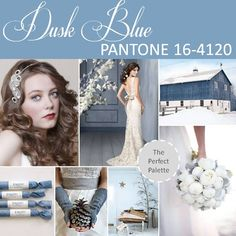 Dusk Blue PANTONE 16-4120 http://www.theperfectpalette.com/2012/10/pantone-fashion-color-report-spring-2013.html