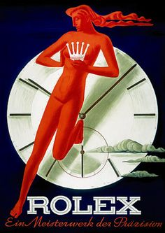 Rolex Watches Advertising Poster