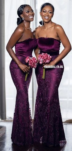 Gorgeous Purple Mermaid Lace Backless Long Bridesmaid Dress, FC5959 #bridesmaiddresses #bridesmaiddress #bridesmaids #dressesformaidofhonor #weddingparty #2021bridesmaiddresses #2021wedding Inexpensive Bridesmaid Dresses, Mermaid Bridesmaid Dresses, Wedding Bridesmaids, Strapless Dress Formal, Formal Dresses, Wedding Dresses, Purple And Gold Wedding, Gold Dress, Backless