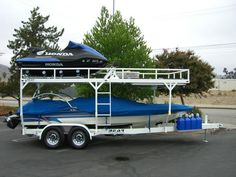 CA Custom Specialty Boat Trailers & Restoration Services Trailer Dolly, Work Trailer, Trailer Plans, Utility Trailer, Toy Hauler Trailers, Camper Trailers, Rv Campers, Trailer Manufacturers, Rv Truck