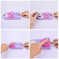 Nail polish stamper Just For You Home Polish Society Elegant Nail Designs, Toe Nail Designs, Beautiful Nail Designs, Gel Nail Art, Nail Art Diy, Diy Nails, Manicure, Nail Art Printer, Nail Art Machine