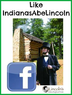 Follow IndianasAbeLincoln on Facebook for trip-planning ideas, quotes, photos, things to do, places to stay in the area that Abraham Lincoln once called home. Abraham Lincoln spent ages 7-21 in Indiana.