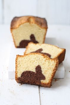chocOlate rabbit marble cake