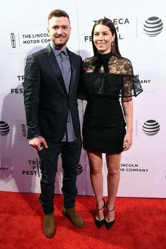 Justin Timberlake, Jessica Biel Tribeca Film Festival