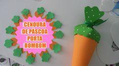 CENOURA DE PÁSCOA - PORTA BOMBOM OU DOCES