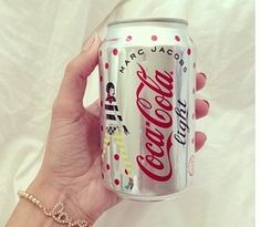 Marc Jacobs for Coca Cola Coca Cola Can, Quotes That Describe Me, Girly Things, Girly Stuff, Coke, Fancy, Canning, Drinks, Marc Jacobs