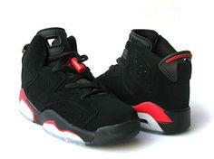 Air Jordan (Women) Black Red White need only $45 on OutletSaler.com