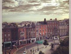 Dublin. Ireland. I know exactly where this view is from :)