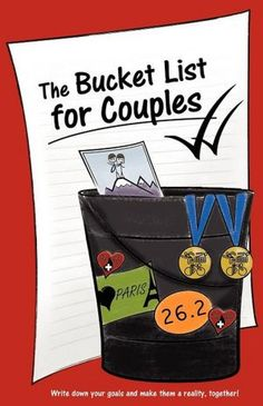 The Bucket List For Couples Book