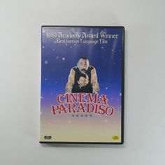 Cinema Paradiso DVD [Korea Edition, International Shortened Ver.,Booklet, 1Disc]