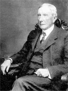 """Ambition: a goal to strive for. Quote: """"The person who starts out simply with the idea of getting rich won't succeed; you must have a larger ambition."""" John D. Rockefeller: self-made oil tycoon, one of """"the big three,"""" and philanthropist."""