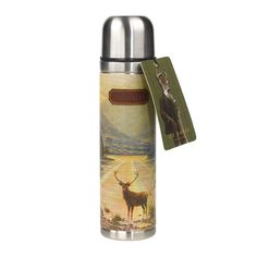 Ted Baker Stag 500ml Vacuum Thermos Flask | Lush Labels
