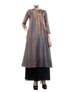 Tie & dye tunic    Shop now: www.thesecretlabel.com