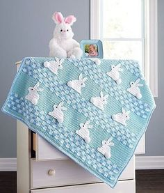 Your baby will fall in love with this adorable blanket. Kit includes Baby Value … Your baby will fall in love with this adorable blanket. Kit includes Baby Value in Blue (shown) or Pink. Crochet For Beginners Blanket, Baby Afghan Crochet, Manta Crochet, Crochet Bebe, Easter Crochet, Baby Afghans, Crochet Blanket Patterns, Crochet For Kids, Baby Patterns
