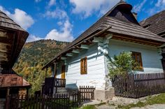 One of the traditional homes in the village of Vlkolinec - a UNESCO World Heritage Site in the Slovakia mountains. Carpathian Mountains, Bratislava, Eastern Europe, Merida, Traditional House, Czech Republic, Beautiful Places, Around The Worlds, Explore