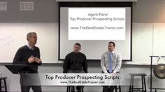 Watch as Brian Icenhower interviews top agents Ron Henderson and John Harris to learn their favorite real estate prospecting scripts, dialogues and objections handlers when prospecting for new business. Scripts for Building Referral Networks from Business Relationships Scripts for Buyers: How to Show Less Homes Agent Websites that Generate Real Estate Leads Just Listed & …