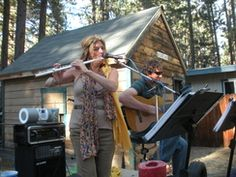 Jazz van Gogh live Music guitar and flute Duo, South Lake Tahoe, CA