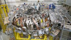 The Wendelstein 7-X (W7-X) reactor is an experimental stellarator (nuclear fusion reactor) built in Greifswald, Germany, by the Max-Planck-Institut für Plasmaphysik (IPP), and completed in October 2015.[2] It is a further development of Wendelstein 7-AS. The purpose of Wendelstein 7-X is to evaluate the main components of a future fusion reactor built using stellarator technology, even if Wendelstein 7-X itself is not an economical fusion power plant. (Wiki)