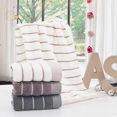 Towel set high-quality 100%cotton towel wave pattern embroidered bath towel adult face towel 3pcs  MJ-1235 YJ-5211