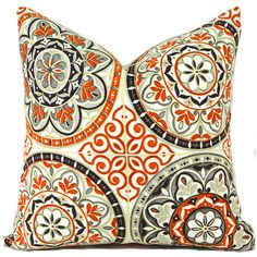 A outdoor/indoor Pillow Covers Any Size Decorative Pillows Orange... (€13) ❤ liked on Polyvore featuring home, home decor, throw pillows, decorative pillows, home & living, home décor, silver, orange outdoor throw pillows, outdoor throw pillows and coral toss pillows