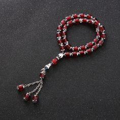 925 Sterling Silver Dangle Pendant Tassel for Rosary Komboloi Masbaha Misbaha Tesbih Tasbih Accessory