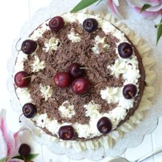 Black Forest Gateau....The best ever recipe...
