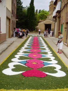 Alfombras florales en Rivas | Blog Mariadel
