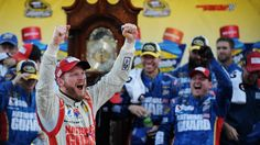 #HeckYeah! With a Martinsville grandfather clock secured, Dale Earnhardt Jr. can bury years of heartache from a place that has caused much of it.