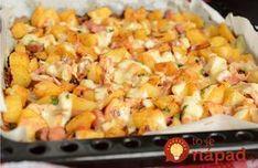 Božské zemiaky na katalánsky spôsob. Food 52, Gnocchi, Ham, Macaroni And Cheese, Food And Drink, Potatoes, Snacks, Meals, Vegetables