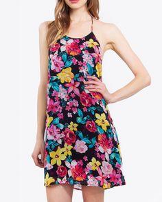 Tropical Rose Dress for Less: #RoseDressforLess #womensfashion https://www.branddeva.com/product/tropical-rose-dress-for-less/