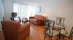 CAD 119 Centrally located in downtown Toronto, this all-apartment property offers fully furnished accommodations and convenient facilities in a vibrant. Holiday Apartments, Apartments For Sale, Toronto Apartment, Toronto Island, Serviced Apartments, Conservatory, Swimming Pools, Room
