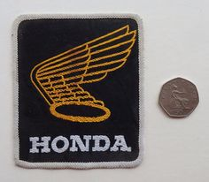 Honda Vintage sew-on Embroidered Patch