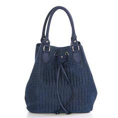 Mila Blu Handbag, Blue