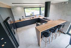 Kitchen And Bath Design, Modern Kitchen Design, Home Room Design, House Design, Hidden Doors In Walls, Kitchen Furniture, Furniture Design, Bars For Home, Interior Design Inspiration