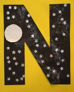 Could use the letter M for moon and do with the Eric Carle book Papa Get Me The Moon
