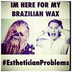Brazilian wax Star Wars joke!! #starwars #brazilians #brazilianwax #brazilian #beautyservice #bodywax #body #waxing #wax #vancouver #bikini #bikiniwax