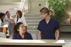 Grey's Anatomy: 'Second Opinion' - Stills Meredith Grey, Cristina And Meredith, Cristina Yang, Greys Anatomy Derek, Watch Greys Anatomy, Grey Anatomy Quotes, Grays Anatomy, Addison Montgomery, Grey's Anatomy Season 9