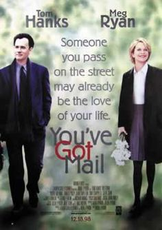 You've Got Mail - Movie Poster: Tom Hanks (Size: 27'' x 39'') by Posterstoponline, http://www.amazon.com/dp/B0016D59AQ/ref=cm_sw_r_pi_dp_YtuZpb0199AVF