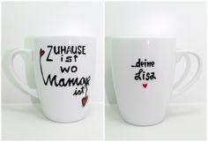 schöne Tasse für Muttertag Geschenk für Muttertag von Lovely-Cups via dawanda.com