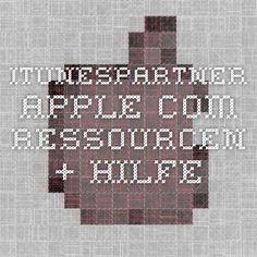 itunespartner.apple.com - Ressourcen + Hilfe