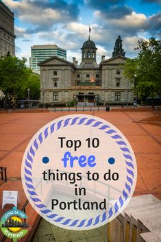 Top 10 free things to do in Portland - Portland Living on the Cheap Easy Hobbies, Hobbies For Couples, Cheap Hobbies, New Hobbies, Cheap Things To Do, Free Things To Do, Stuff To Do, California With Kids, Airfare Deals