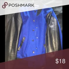 forever 21 jacket never worn | leather sleeves Forever 21 Jackets & Coats