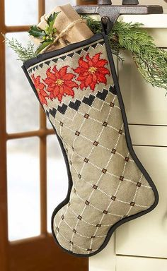 Christmas Stockings Cross Stitch Patterns Holiday cross stitch patterns to make as gifts for family and friends