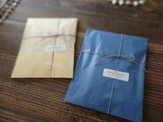 ネックレスのラッピング / カラーの薄葉紙を使って - ハンドメイドアクセサリー「rue」のアイテムと、アクセサリーのラッピング、発送、梱包、おしゃれな食品パッケージについてのブログ