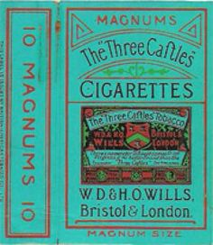 The Three Caftles Cigarettes